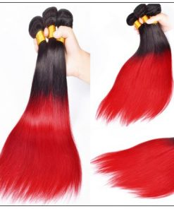 red ombre weave 2