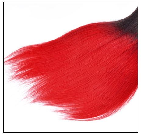red ombre weave 3