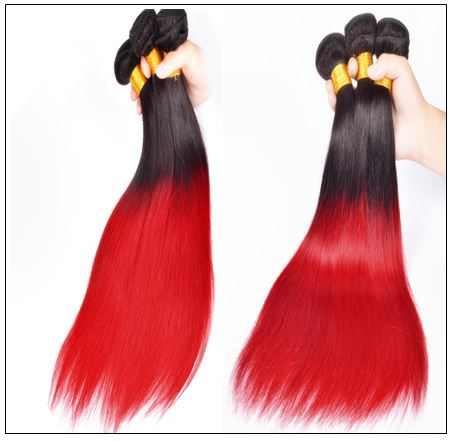 red ombre weave 4