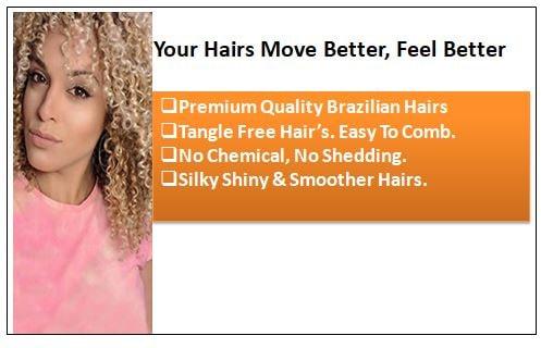 3 Bundles Kinky Curly Colour 27 Hair 1-min
