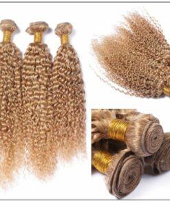 3 Bundles Kinky Curly Colour 27 Hair 2-min