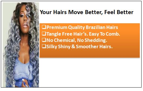 Kinky curly weave hair bundles ombre colour black and silver grey 1-min