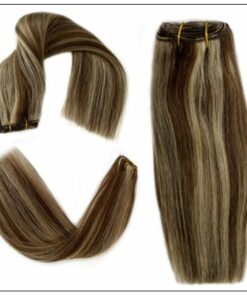 long brown hair with blonde highlights (1)-min
