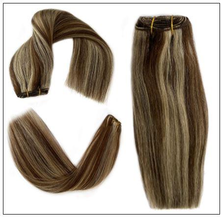 medium length brown hair with blonde highlights (1)-min