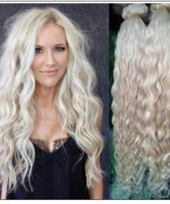 platinum blonde curly hair img