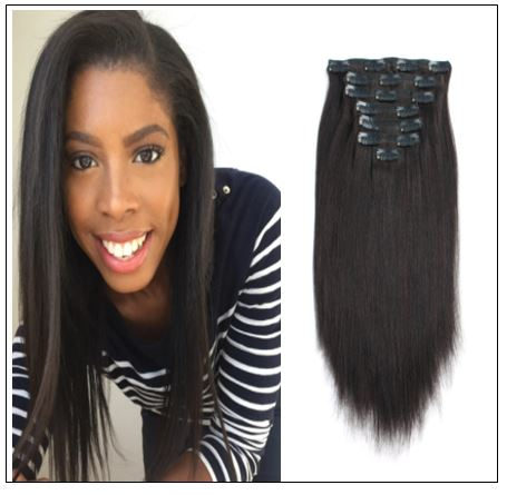 African American Clip in Hair Extensions (2)