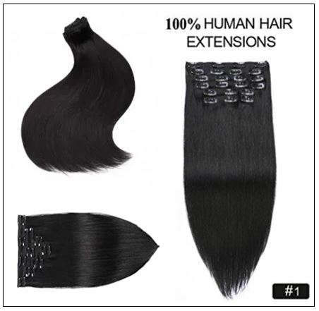 African American Clip in Hair Extensions (6)