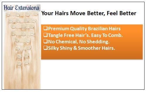 Ash Blonde Short Hair Extensions (1)-min