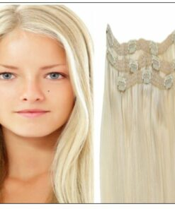 Blonde Clip in Hair Extensions img