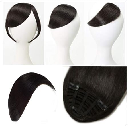 Clip In Side Bangs Human Hair Extensions 3-min