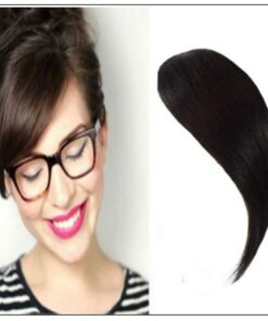 Clip In Side Bangs Human Hair Extensions img-min