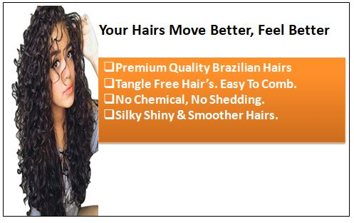 Curly Clip in Human Hair Extensions (2)