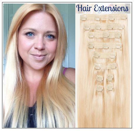 Natural Ash Blonde Hair Extensions img-min