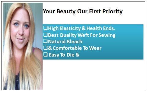 Natural Ash Blonde Hair Extensions-min