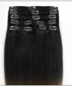 Ombre Human Hair Extensions Clip In 3-min