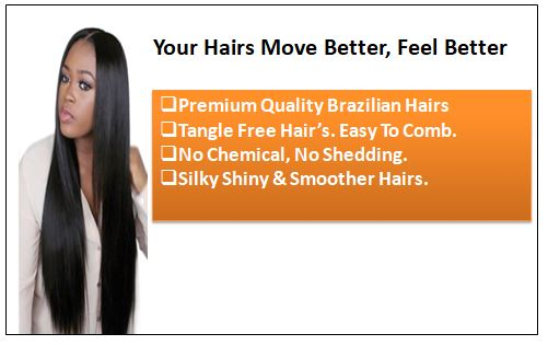 Straight Clip in Hair Extensions (2)