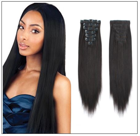 Straight Clip in Hair Extensions img
