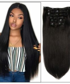 brazilian clip in hair extensions img
