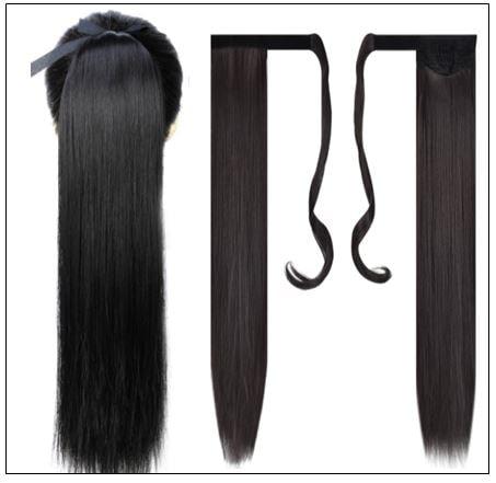 Black Girl Weave Ponytail Hair Extensions (3)