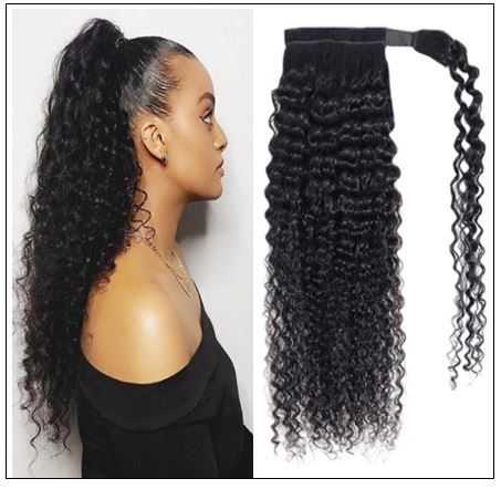 Curly Clip on Ponytail Hair Extensions (2)