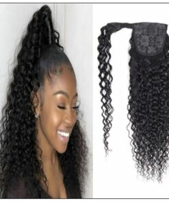 Curly Ponytail Black Girl Hair Extensions (2)