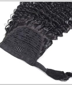Human Hair Curly Ponytail Hair Extensions (3)