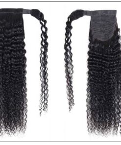 Human Hair Curly Ponytail Hair Extensions (4)