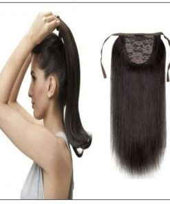 Short Clip in Ponytail Hair Extensions (5)