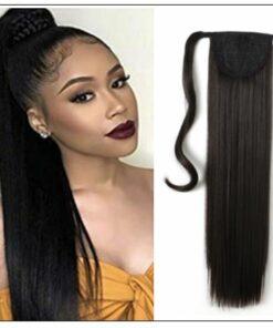Shoulder Length Hair Ponytail Hair Extensions (2)