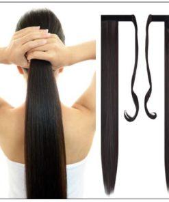 Shoulder Length Hair Ponytail Hair Extensions (5)