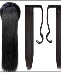 Straight Hair Ponytail Hair Extension (1)