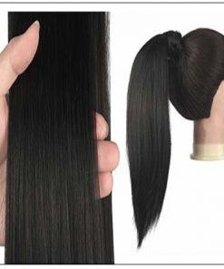 Straight Hair Ponytail Hair Extension (2)
