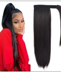 Straight Hair Ponytail Hair Extension