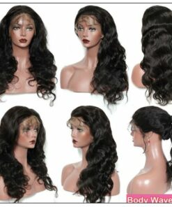 13×4 Brazilian Body Wave Frontal Wig Hair Extensions (5)