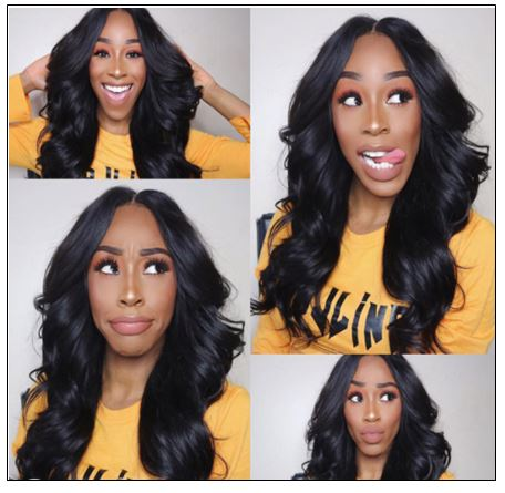13×4 Brazilian Body Wave Frontal Wig Hair Extensions (6)