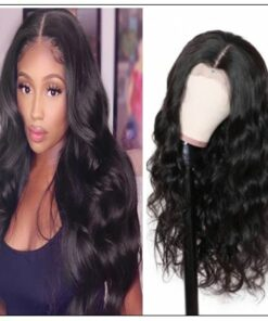 13×4 Side Part Body Wave Wig Hair Extensions (6)