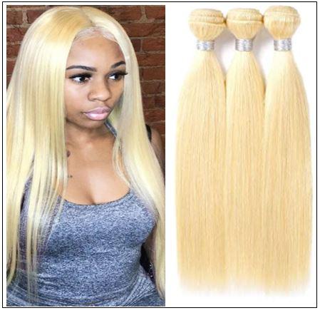 Blonde Sew in Weave Hair Extensions (1)