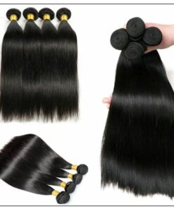 Closure Sew in Side Part Hair Extensions