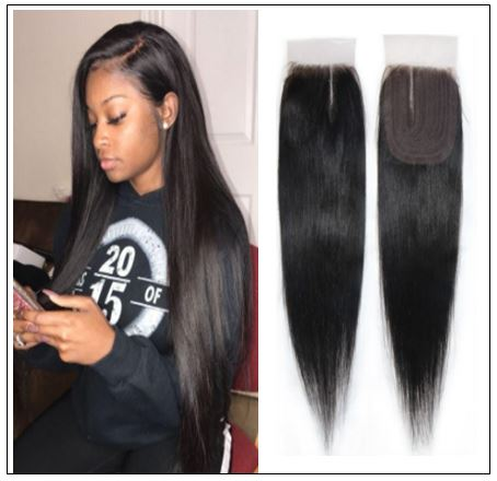 Closure Sew in Side Part Hair Extensions img