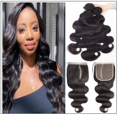 Side Part Body Wave Sew in Hair Extensions (1)