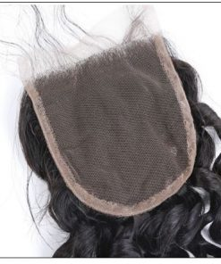 Side Part Deep Wave Sew in with Closure 3