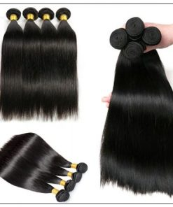 Side Part Straight Sew in Hair Extensions (5)